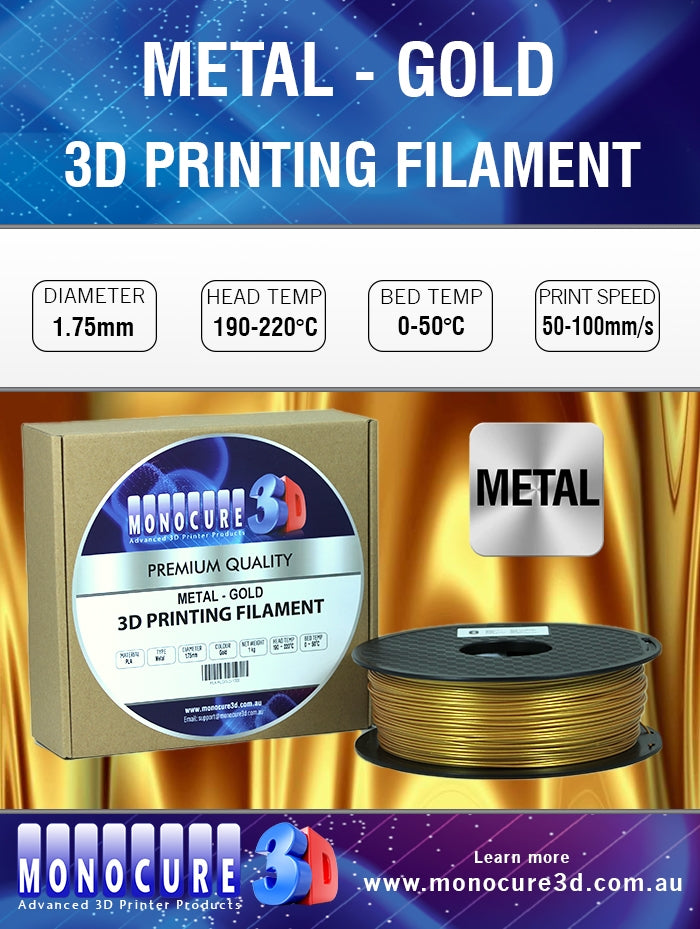 METAL-LIKE FILAMENT - GOLD (1 KG)