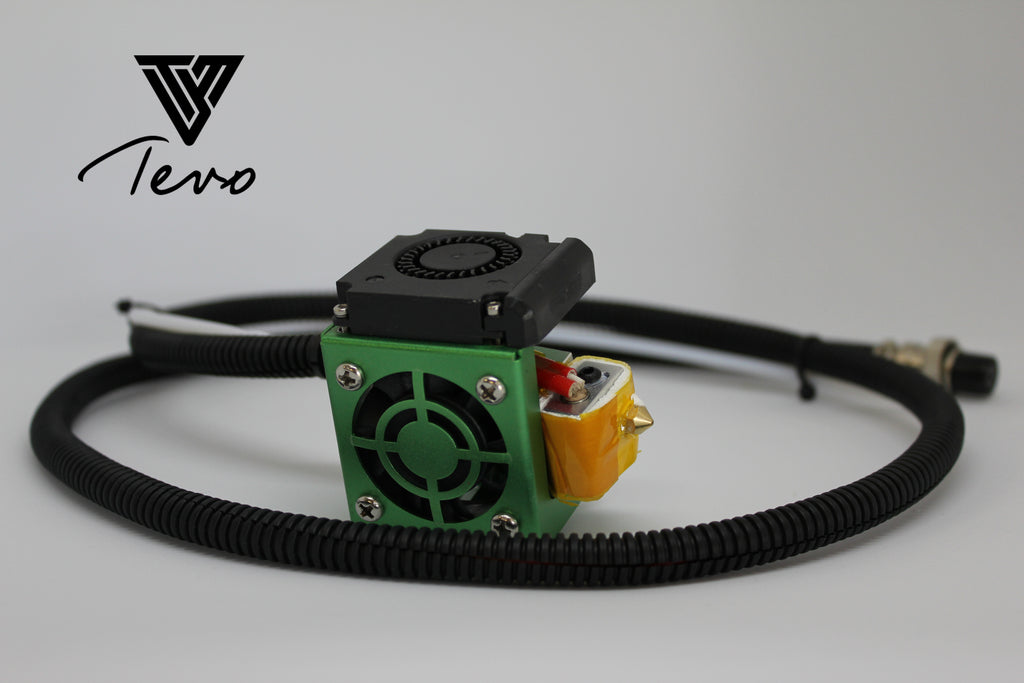 Tevo Tornando Complete Hotend Assembly Kit (Green)