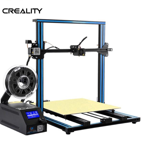 "2019 CREALITY CR-10 ""S4"" 3D PRINTER - ENORMOUS 400x400x400MM BUILD VOLUME!!!"