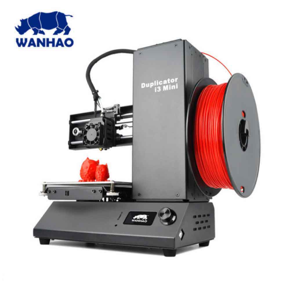 2018 WANHAO DUPLICATOR i3 MINI 3D PRINTER (FULLY ASSEMBLED) - Click Depot