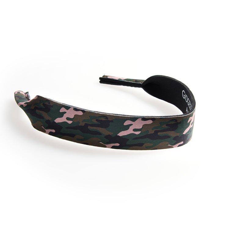 Gidgee Eyes Sunglasses Strap - Green Camo