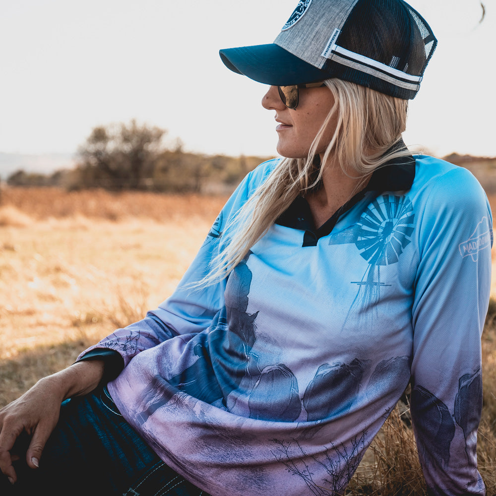 Hot Southern Cattle Co Womens Fishing Shirt - Drover