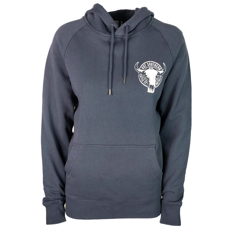 Hot Southern Cattle Co Vintage Blue Premium Hoodie - Unisex Fit