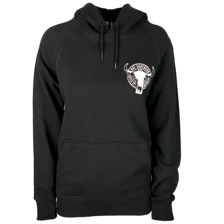 Hot Southern Cattle Co Black Premium Hoodie - Unisex Fit