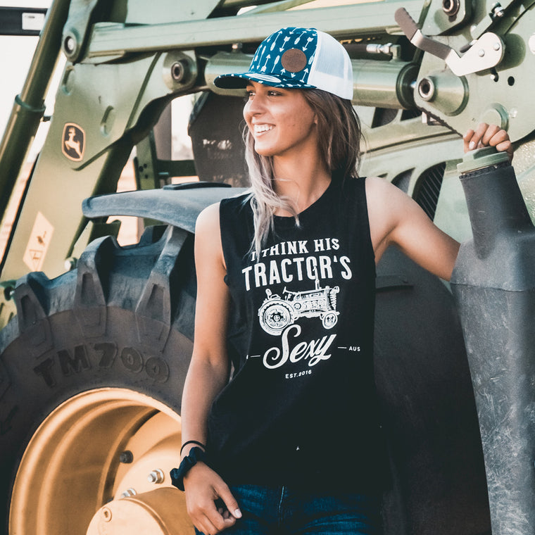 Hot Southern Miss Tractor Black Original Tank