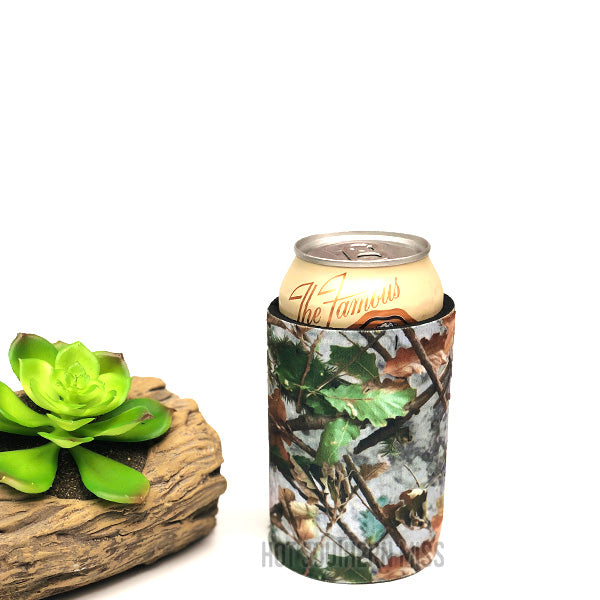 Leaf Camo Stubby Can Cooler Holder - [Only 8 LEFT] 50% OFF [NO Refunds/Exchanges]