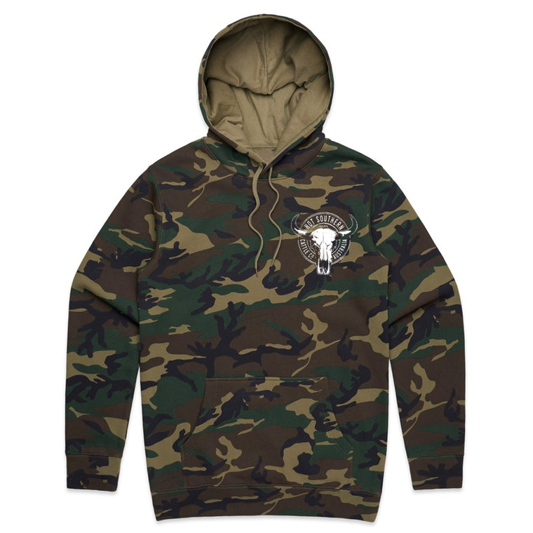 Hot Southern Cattle Co Camo Fleece Hoodie - Unisex Fit