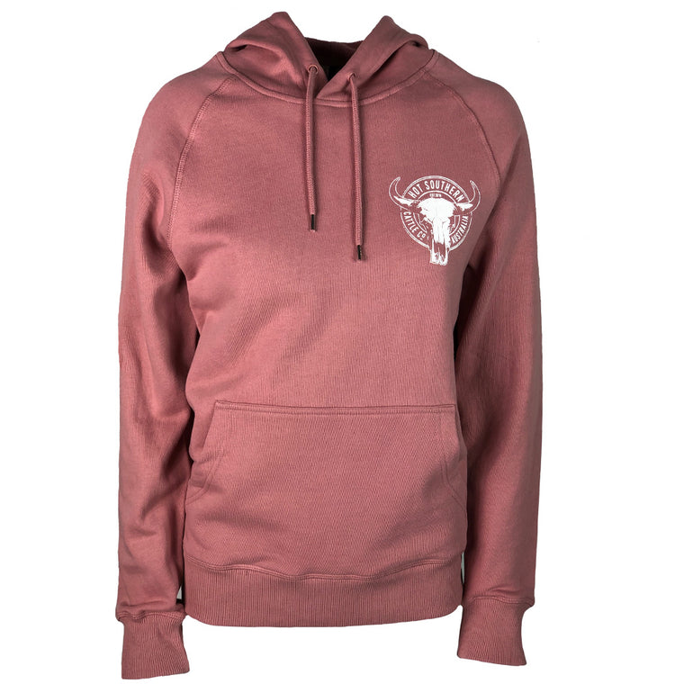 Hot Southern Cattle Co Dusty Pink Premium Hoodie - Unisex Fit