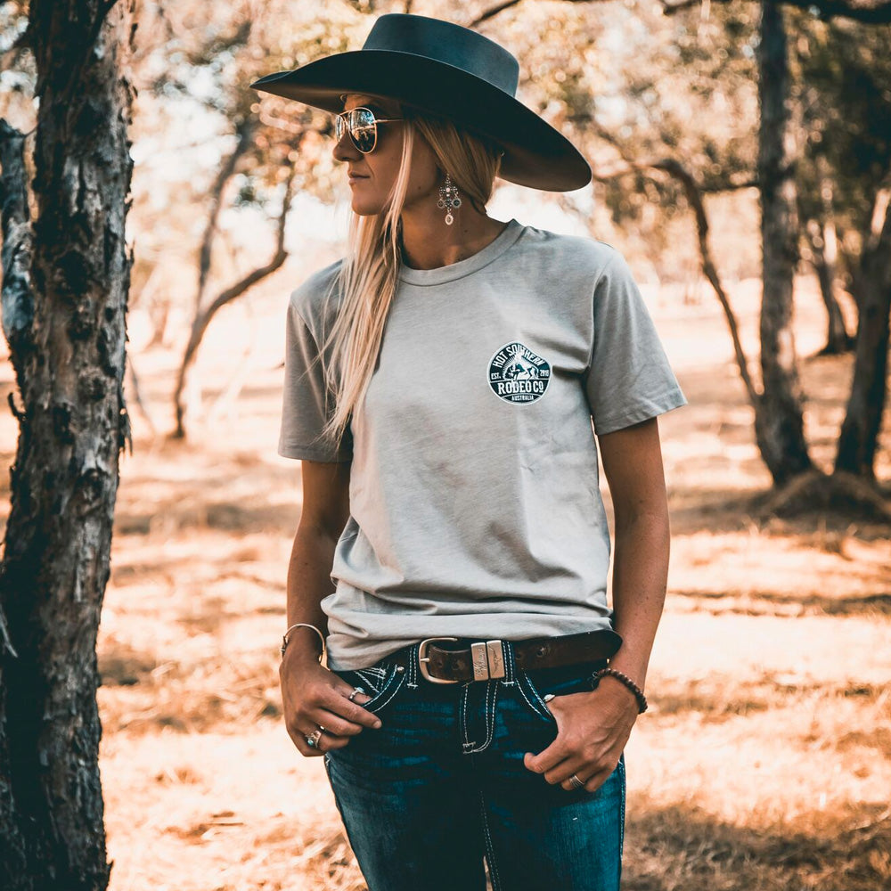 Hot Southern Rodeo Co Bronc Sand Unisex T-Shirt