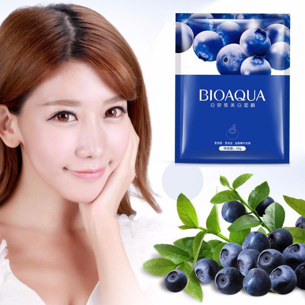 Blueberry Collagen Face Mask