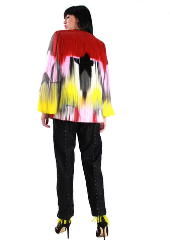 Krasimira Stoyneva, Multicolour hair coat
