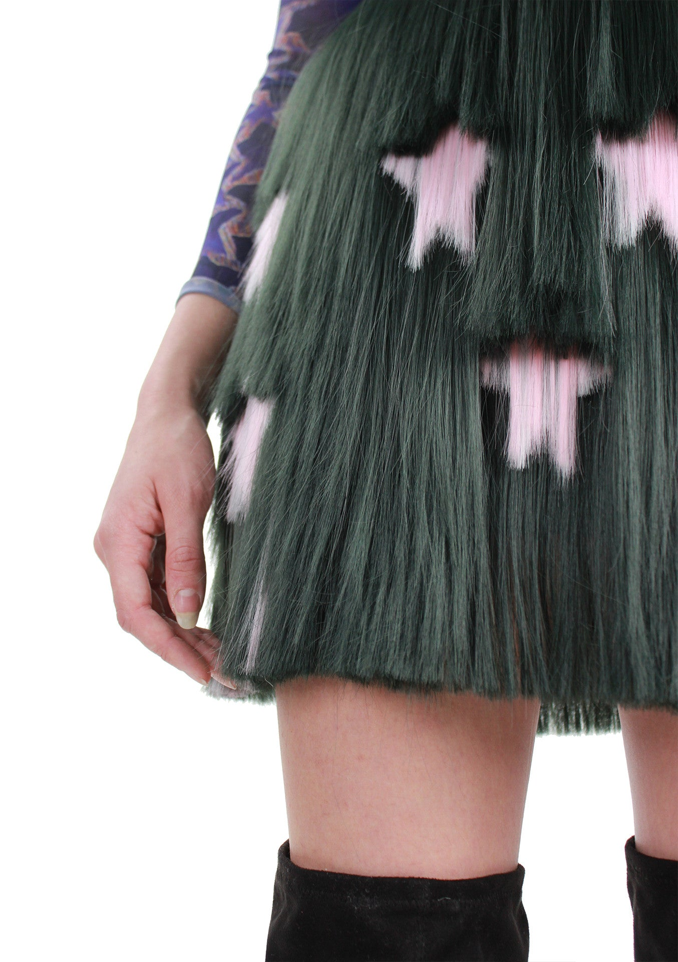 Green Signature Middle Skirt A/W17