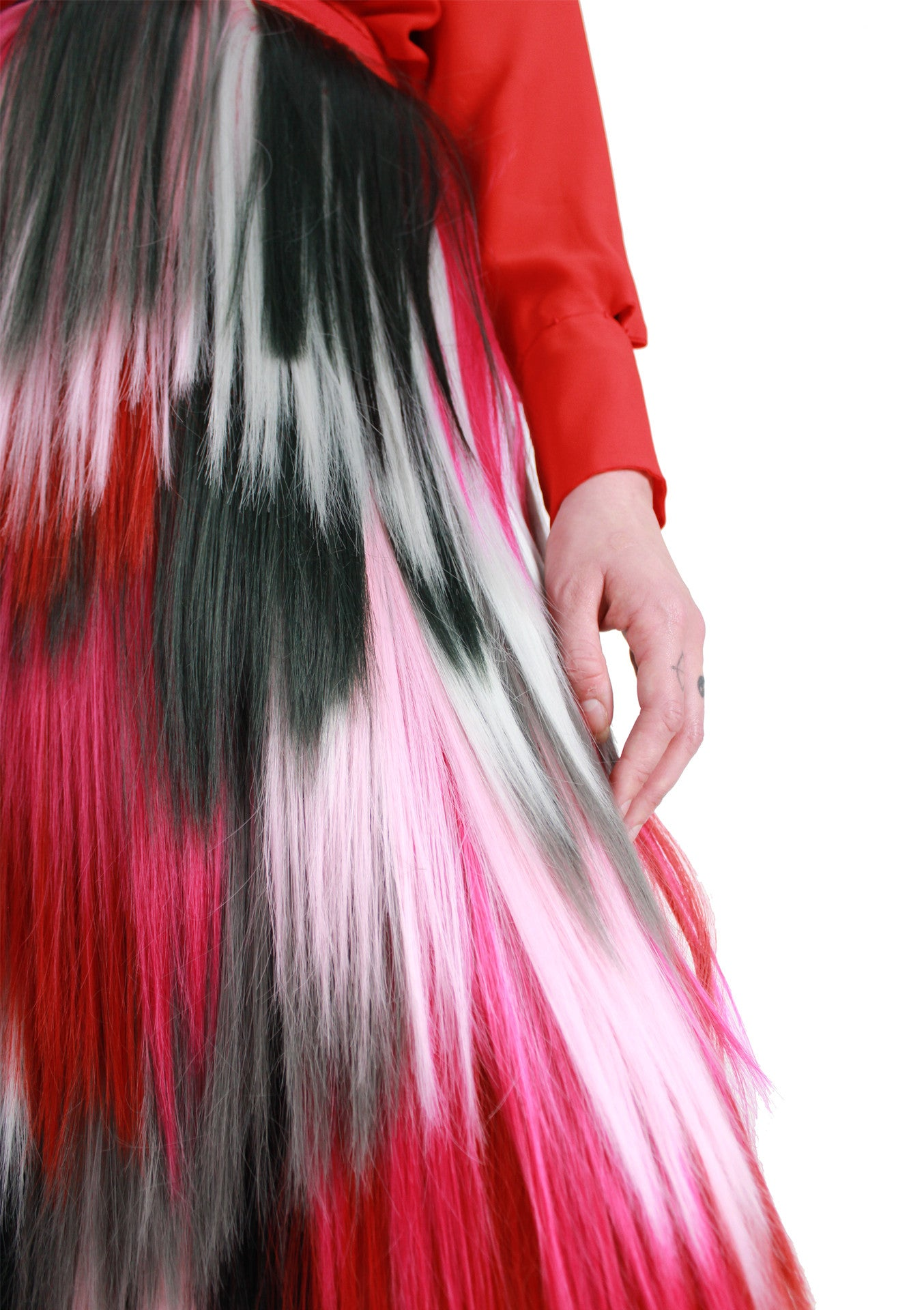 Pink Shade Signature Long Skirt A/W 17