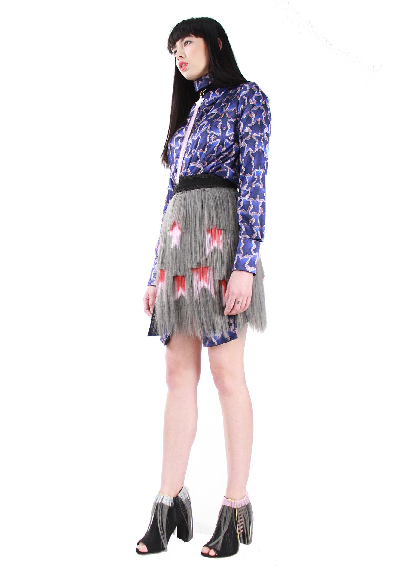 Grey Signature Middle Skirt A/W 17