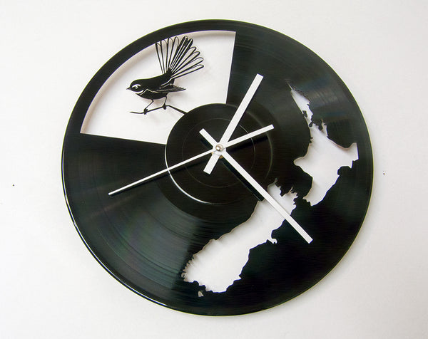 Clock Option Vinyl Revamp - Vinyl Record Art