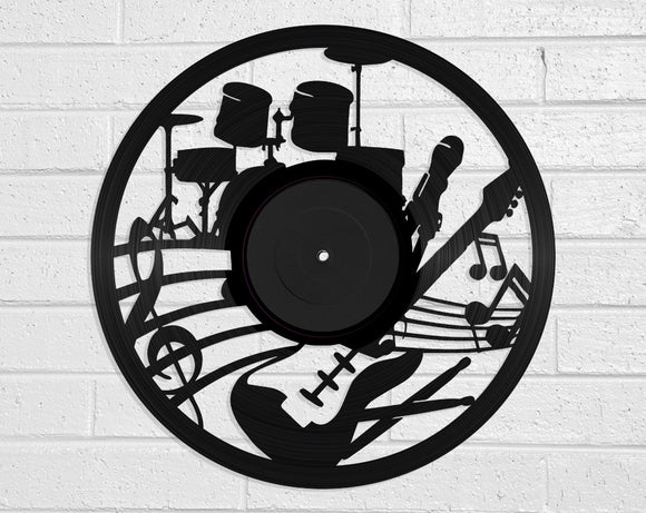 Band Vinyl Record Art Vinyl Revamp - Vinyl Record Art
