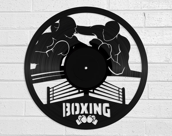Boxing Vinyl Record Art Vinyl Revamp - Vinyl Record Art