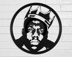 Biggie Smalls Vinyl Record Art Vinyl Revamp - Vinyl Record Art