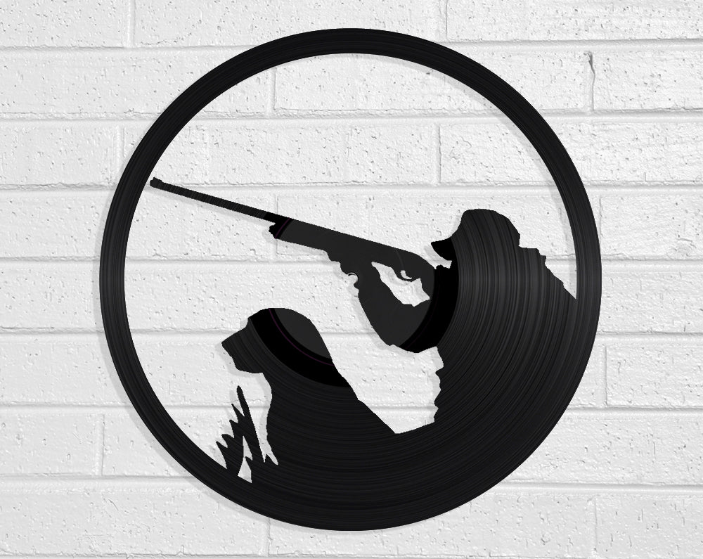 Duck Hunting Vinyl Record Art Vinyl Revamp - Vinyl Record Art