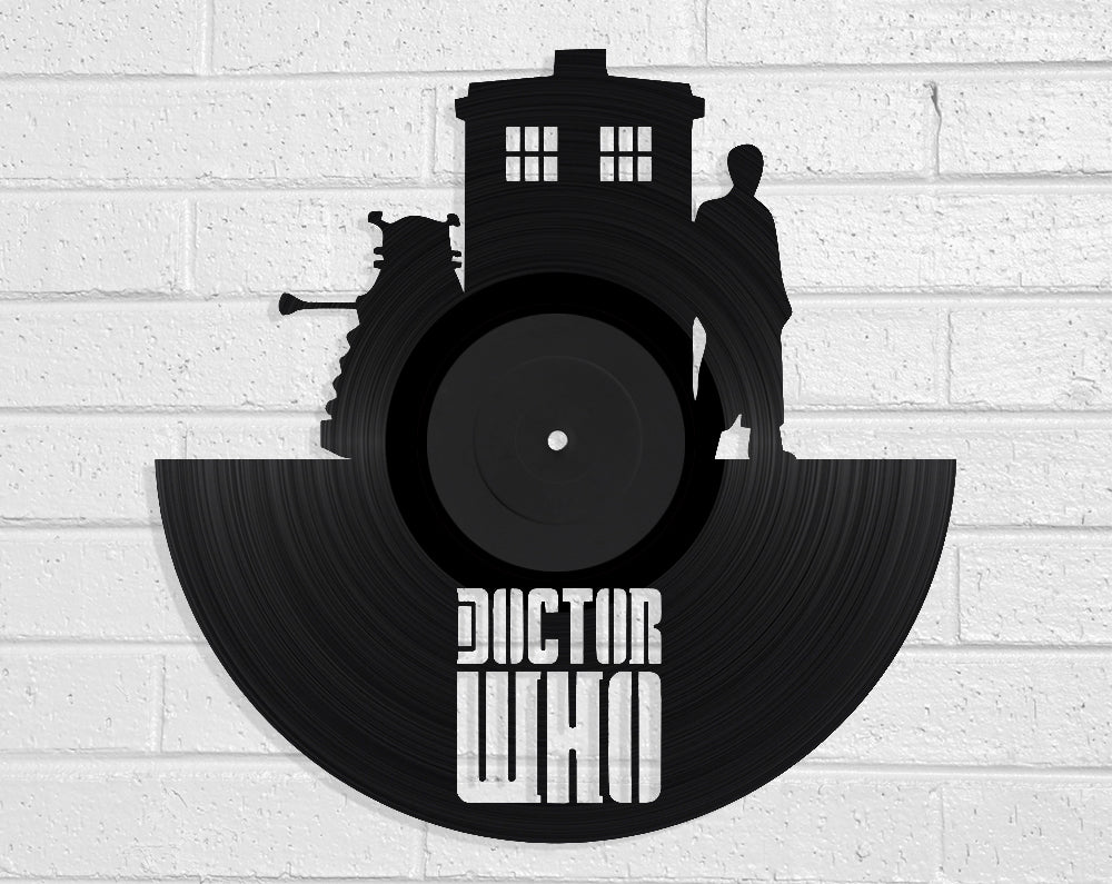 Doctor Who Vinyl Record Art Vinyl Revamp - Vinyl Record Art