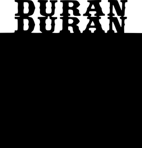 450 mm Duran Duran Blackboard