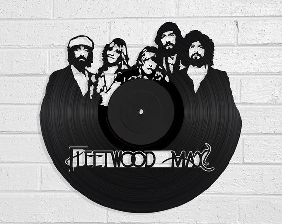 Fleetwood Mac Vinyl Record Art Vinyl Revamp - Vinyl Record Art