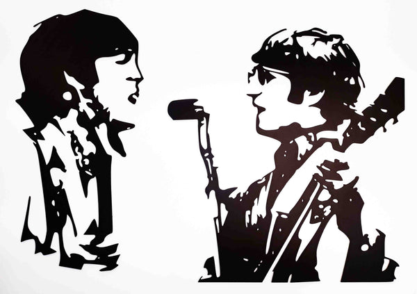 John & Paul Singing 2 Piece
