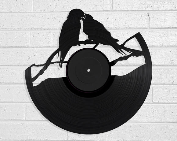 Kea Couple Vinyl Record Art Vinyl Revamp - Vinyl Record Art
