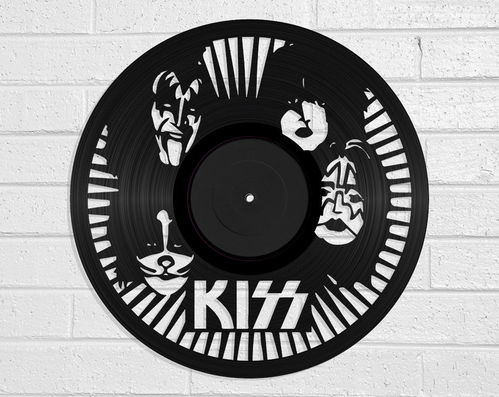 KISS Vinyl Record Art Vinyl Revamp - Vinyl Record Art