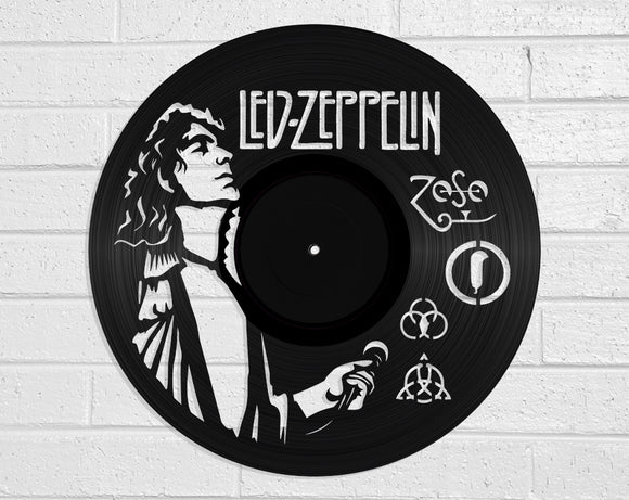 Led Zeppelin Vinyl Record Art Vinyl Revamp - Vinyl Record Art