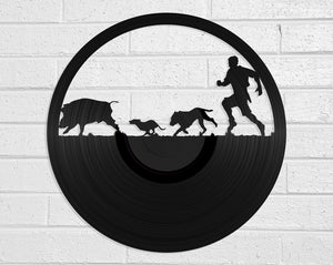 Pig Hunter Vinyl Record Art Vinyl Revamp - Vinyl Record Art