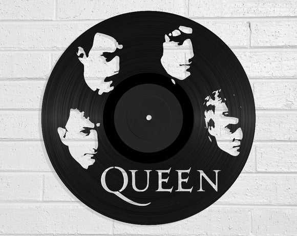 Queen Vinyl Record Art Vinyl Revamp - Vinyl Record Art