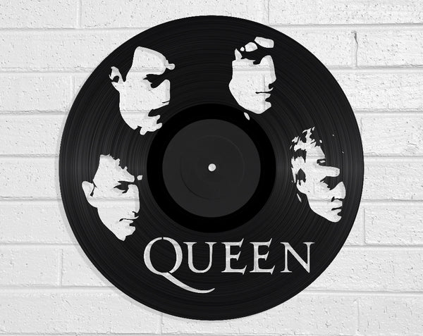 Queen - Vinyl Record Art - Vinyl Revamp