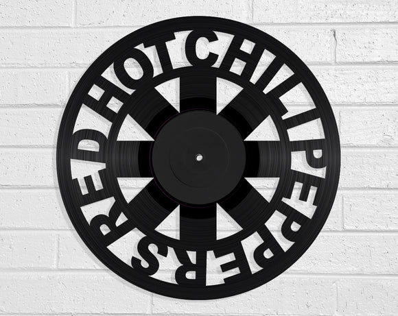 Red Hot Chili Peppers Vinyl Record Art Vinyl Revamp - Vinyl Record Art
