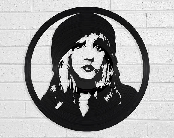 Stevie Nicks Vinyl Record Art Vinyl Revamp - Vinyl Record Art
