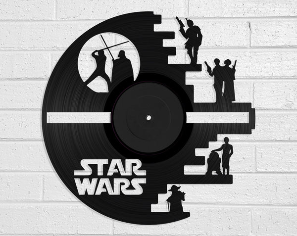 Star Wars Vinyl Record Art Vinyl Revamp - Vinyl Record Art