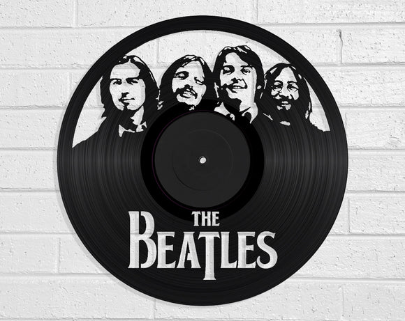 The Beatles Vinyl Record Art Vinyl Revamp - Vinyl Record Art