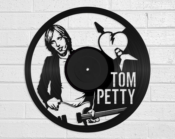 Tom Petty Vinyl Record Art Vinyl Revamp - Vinyl Record Art
