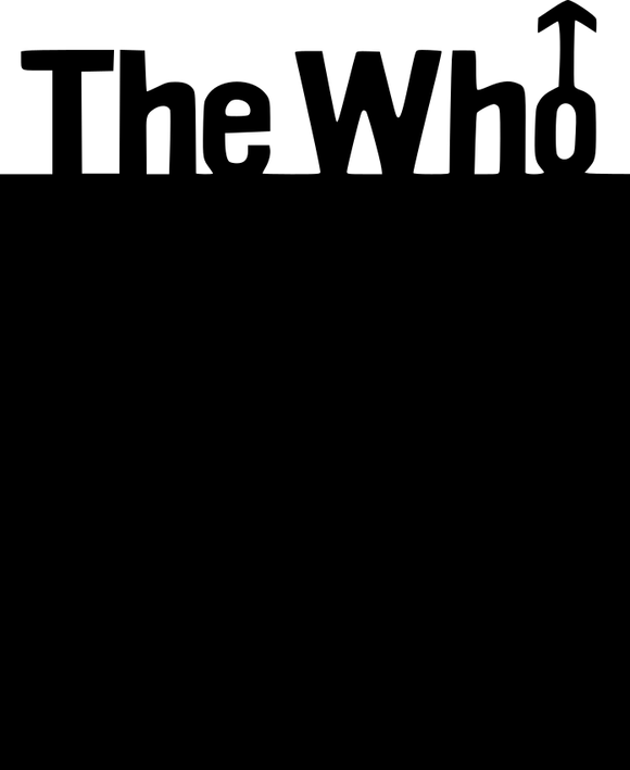 450 mm The Who Blackboard