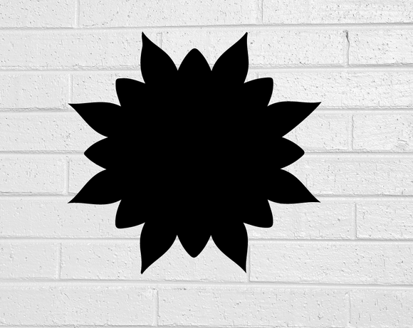 Flower Burst Blackboard