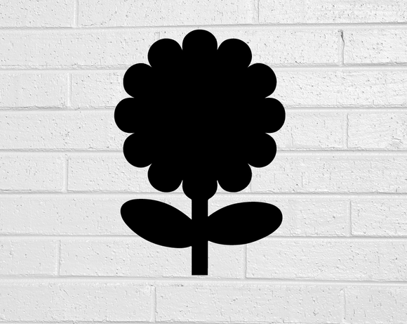 Flower Plant Blackboard