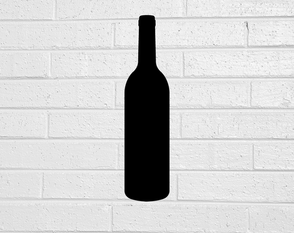 Wine Bottle Blackboard