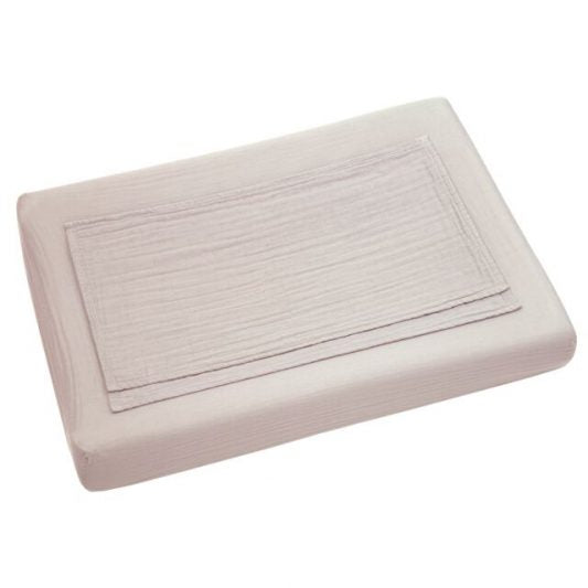 NUMERO 74 CHANGING PAD FITTED COVER ~ POWDER