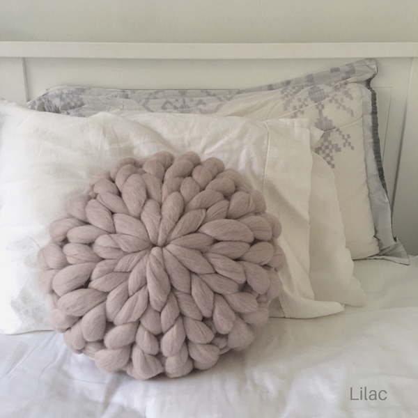 Round Powder Puff cushion