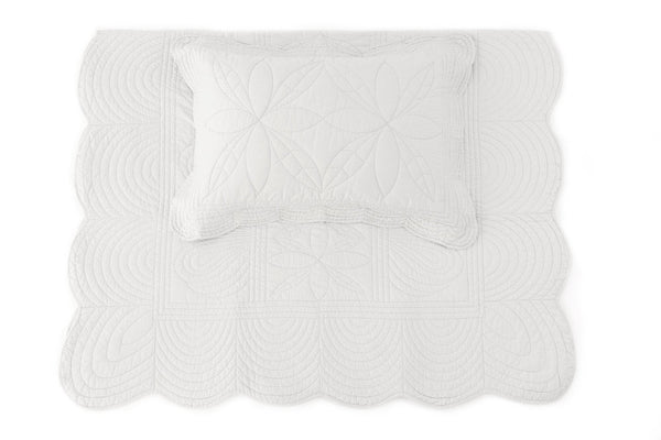 Quilt bedspread and Pillow Set - Mist - single