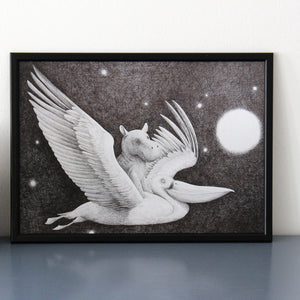 Lofberg ~ Let's Fly Away ~ A3 ~ Print