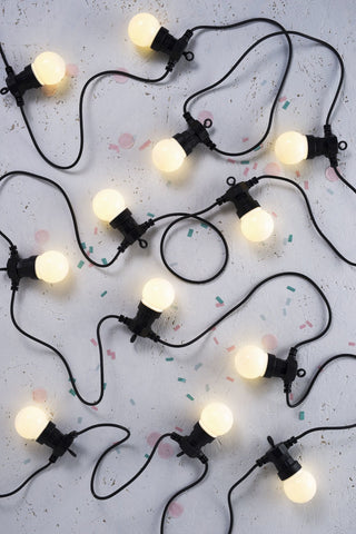 Festoon Lights \ Frosted \ DELIGHT DECOR