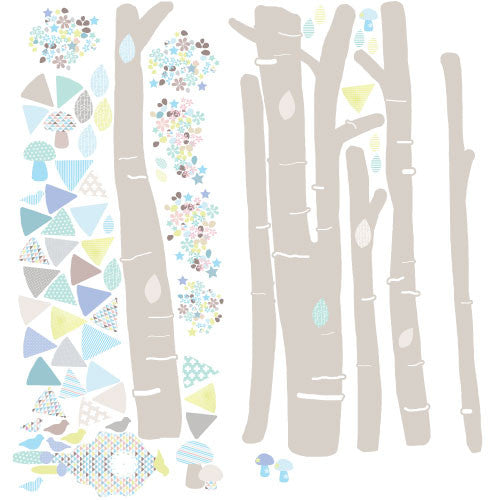 Schmooks wall sticker Forest Scene