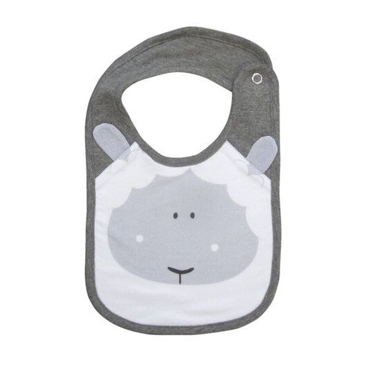 Mister Fly Lamb face bib