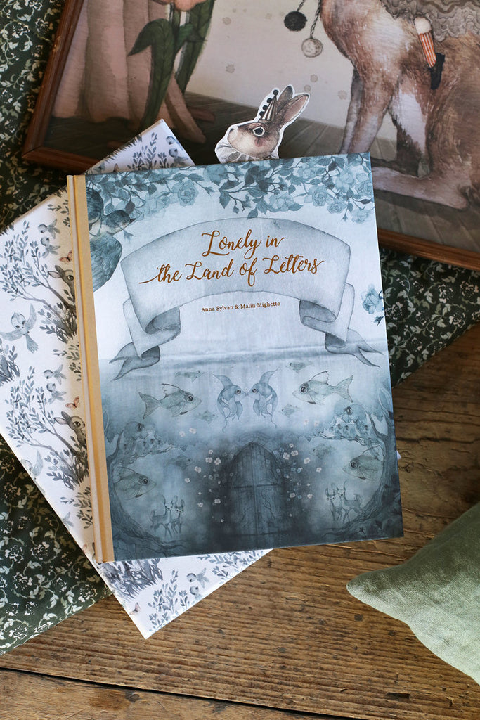 Mrs. Mighetto ~ LONELY IN THE LAND OF LETTERS BOOK ~ 36 Pages